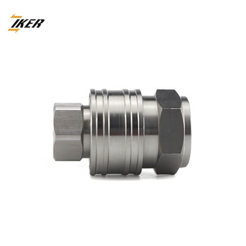 ZJ-KA Series are non-valved couplings for applications where maximum flow is required. Its smooth, open aperture designs make it the lowest pressure drop among quick couplings, which is ideal for applications such as high-pressure water and steam washers, carpet cleaners and mold coolant lines and many other non-valved applications.